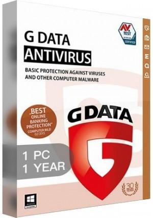G Data Antiviru /1 PC (1 Year)