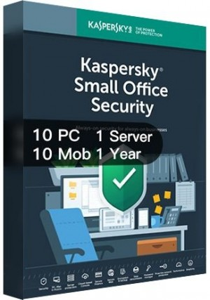 Kaspersky SMALL Office Security Version 7 / 10PCs + 10Mobs+ 1Server (1 Year)