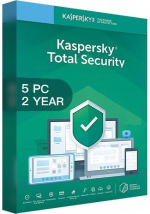 Kaspersky Total Security Multi Device 2020 / 5 Devices (2 Years)