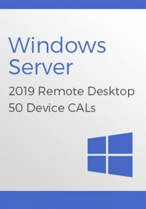 Microsoft Windows Server 2019 Remote Desktop - 50 Device CALs