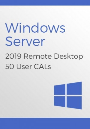 Microsoft Windows Server 2019 Remote Desktop - 50 User CALs
