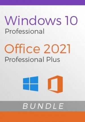 Windows 10 Pro + Office 2021 Pro Plus - Package