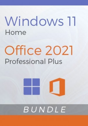 Windows 11 Home + Office 2021 Pro Plus- Package