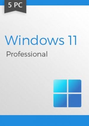 Windows 11 Professional CD-KEY  5 PCs