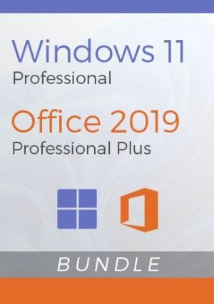 Windows 11 Pro + Office 2019 Pro Plus - Package