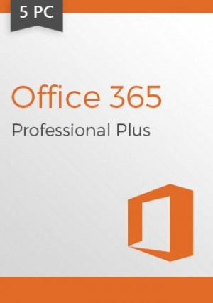 Microsoft Office 365 (1 Year Subscription) 5 Devices (WIN)