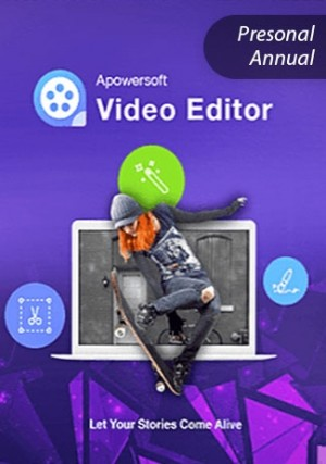 Apowersoft Video Eidtor - Personal Edition (Annual)
