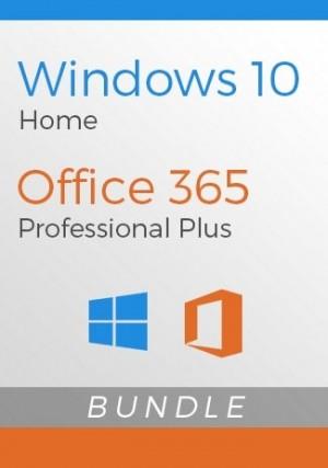 Windows 10 Home + Office 365 Account - Bundle