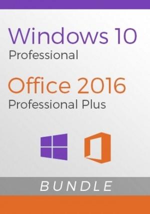 Windows 10 Professional + Office 2016 Pro Plus Bundle