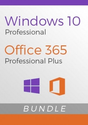 Windows 10 Pro + Office 365 Account - Bundle