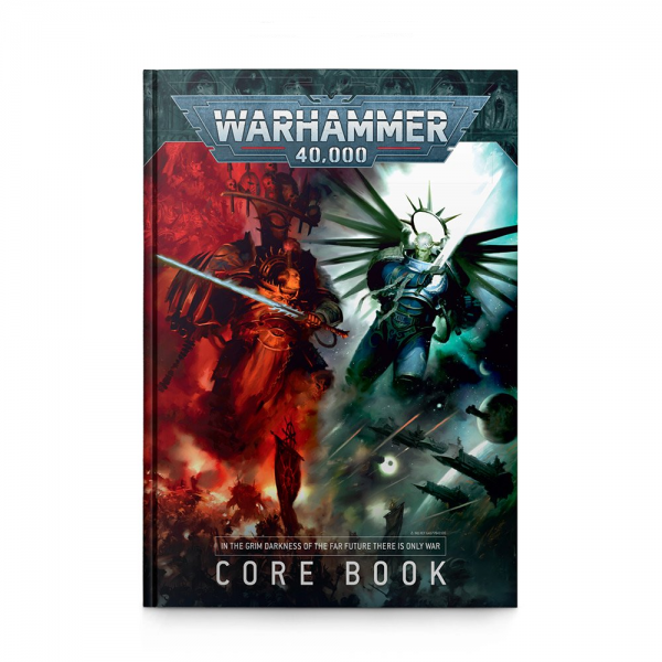 9th Edition Core Book Rulebook English Warhammer 40K