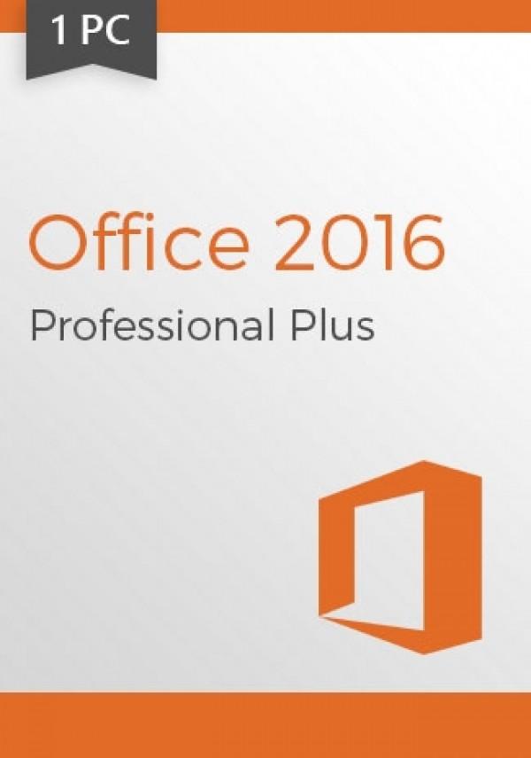 Microsoft Office 2016 Pro Professional Plus CD-KEY (1 PC)