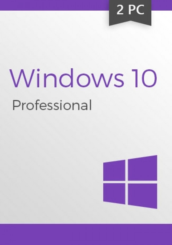Windows 10 Pro Professional CD-KEY (32/64 Bit) (2 PC)