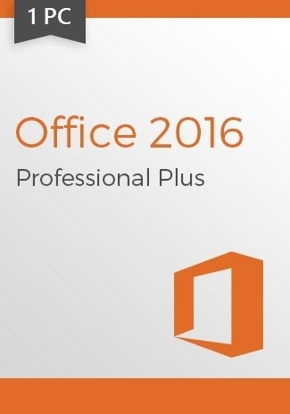 Microsoft Office 2016 Professional Plus 1 PC